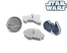 Star Wars Cookie Cutter 8 Pc Set Complete Saga: Death Star, Millennium Falcon, X-wing Fighter and Darth Vaders TIE Fighter, C3PO, Chewbacca, Darth Vader, Yoda. Make Cookie, Fondant with your Kids. >>> Startling review available here at : baking essentials