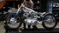 The Kestrel by Falcon Motorcycles - YouTube