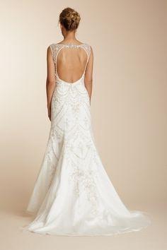 Wedding dress unique back