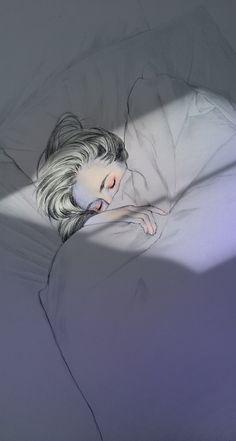 Beautiful paintings and illustrations Art Sketches, Art Drawings, Sad Art, Anime Art Girl, Aesthetic Art, Cute Wallpapers, Cute Art, Art Inspo, Fantasy Art