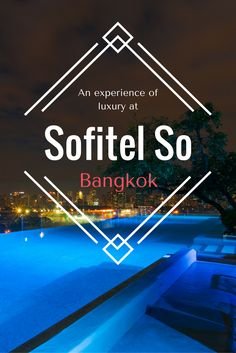The comfort that I experienced at Sofitel So Bangkok, however, was beyond anything I expected when I contacted them about launching my trip with a review of their hotel.