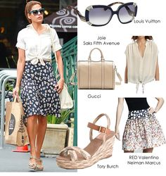 Get the Look: Casual and Fashionable - Eva Mendez
