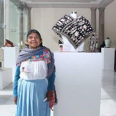 Felicidades Martina García, ganadora del Galardón Nacional del Concurso #GrandesMaestros Patrimonio Artesanal México