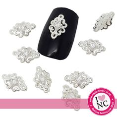 Bling me Up Candi - Silver (2 per pack)