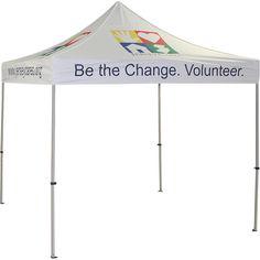Jersey Cares Promotional Logo Tent