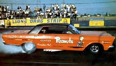 The Peanuts Ford Galaxie at Lions Drag Strip