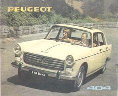 1964 Peugeot 404 sales brochure please visit also:. Peugeot 404, 3008 Peugeot, Vintage Cars, Antique Cars, Automobile, Alfa Romeo Cars, Weird Cars, Crazy Cars, Import Cars