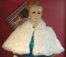 Hey, I found this really awesome Etsy listing at https://www.etsy.com/listing/88179541/ivory-bridal-capeletfaux-fur-winter