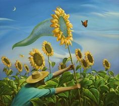 """""""Un día en la vida"""" - por Vladimir Kush"""