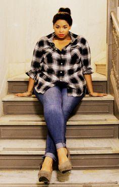 0f969443deb Big Beautiful Black Girls. Plus Size Fashion ...