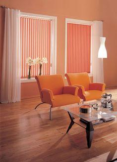 Luxaflex Vertical Blinds.