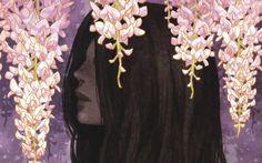 Flowers Artwork Anime Girls Midori Foo Black Hair Fresh New Hd Wallpaper [Your Popular HD Wallpaper] #ID63953 (shared via SlingPic)