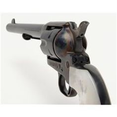 """Colt Single Action Army revolver in .38 special caliber with 7 ½"""" barrel, blue and case hardened finish"""