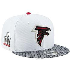 New Era Atlanta Falcons NFL Super Bowl LI Opening Night Snapback Cap 950  Adjustable back Made by New Era Official Super Bowl hat Authentic  merchandise ... a2105c72607f