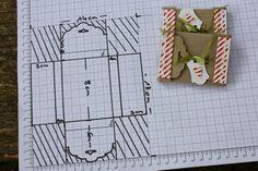 Polly kreativ: Merci, dass es dich gibt! - Merciverpackung mit gewelltem Anhänger