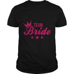 Awesome Tee Team Bride Bachelorette Party Wedding Shirt T shirts