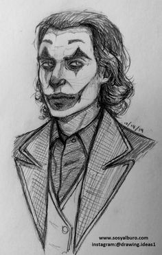 Art Sketches Pencil ` Art Sketches - Art World Joker Sketch, Joker Drawings, Marvel Drawings, Dark Art Drawings, Art Drawings Beautiful, Pencil Art Drawings, Art Drawings Sketches, Cool Drawings, Joker Pencil Drawing