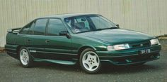 HSV SV5000, 1988, Racing Green, 5.0ltr. V8, 200kW/ 410Nm, 1 of 359, Based on a Holden VN Commodore Berlina.