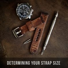 Determining your watch strap size