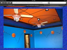 Boys Basketball Bedroom Ideas fun sports themed bedroom designs for kids | toddler boy rooms