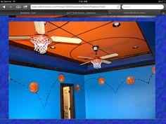 Boys room, basketball