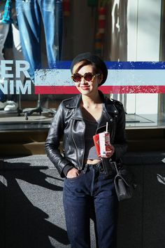 MARIO wearing CHANEL, CONVERSE, karen walker, Levis®, UNITED ARROWS in Harajuku | Fashionsnap.com