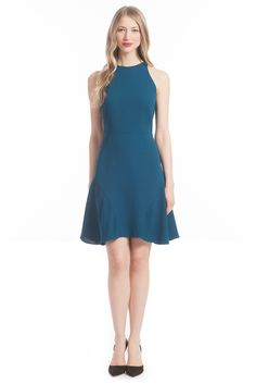 So sophisticated and gorgeous in teal!  LOVE! @DressedbyLori
