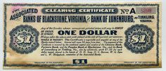 Tinkling, Virginia 1907 Panic Scrip front