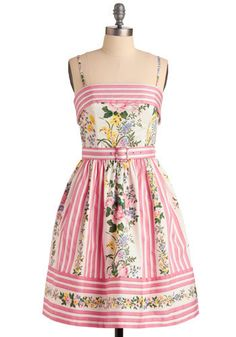 Betsey Johnson Terrace Party Dress. Call up your bestie and tell her to bring her signature bundt cake, and while youre at it, phone your sis, because she makes the best artichoke dip - its time for a little get-together with your gals. #multi #wedding #modcloth
