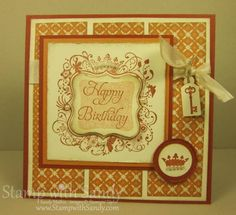 MOJO234 and Elementary Elegance by stampwithsandy - Cards and Paper Crafts at Splitcoaststampers