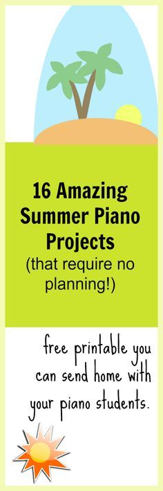 Fun piano activities for kids. Send this home with students and they'll continue their piano practice happily all summer! Music Games, Music Activities, Piano Games, Music Mix, Music Lessons For Kids, Music For Kids, Piano Classes, Violin Lessons, Piano Teaching