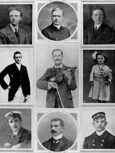 Survivors of the Empress of Ireland Photographic Print