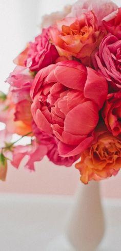 peach,coral,garden rose,coral peonies,modern,ranunculus,Spring,Summer,flowers,pink
