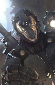 Sci-fi Suit by RanDize.deviantart.com on @deviantART