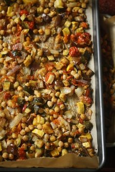 Chickpea Ratatouille mondays, food, ratatouille, healthi, eat, yummi nosh, recip, chickpea ratatouill, chickpeas