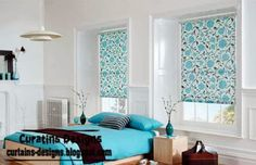 Roller Blinds for plastic windows, Roller blinds colors for all interiors