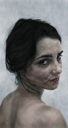Vania Comoretti portrait paintings