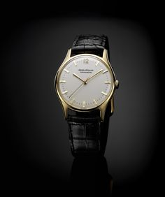 The Luxe edition of Jaeger-LeCoultre's anti-magnetic 1958 Geophysic chronometer