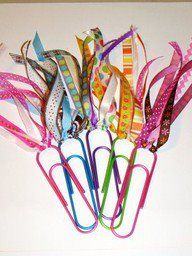 A fun craft for your homeschoolers - easy-to-make bookmarks!