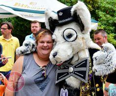 Foto von Rotanes dem Wolf beim Tierparkfest Recklinghausen 2016