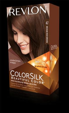 ... MULTI-DIMENSIONAL COLOR AND SHINE.%0AMy Shade: 47 MEDIUM RICH BROWN