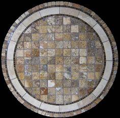 Rio multicolored mosaic stone design