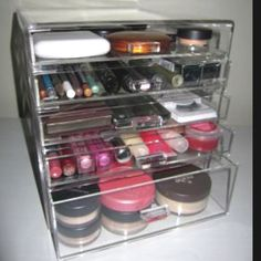 Clear makeup storage holder!