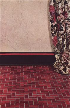 1925 Red & Black Color Scheme   by American Vintage Home
