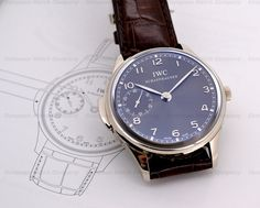 IWC 5242 Portuguese Minute Repeater in 18K White Gold with a Grey Dial Reference IW524205....HOT HOT HOT!