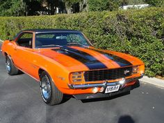 Name: 1969 Hugger Orange Z28/RS