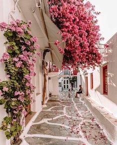 Fond Design, Veranda Magazine, Pink Petals, Beautiful Places To Travel, Romantic Travel, Amazing Places, Travel Aesthetic, Dream Vacations, Aesthetic Pictures