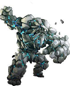 Earth elemental Kundarak Vault guardian