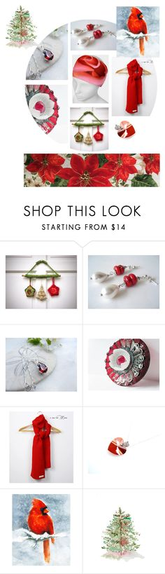 """Tis' The Season"" by jarmgirl ❤ liked on Polyvore featuring vintage"