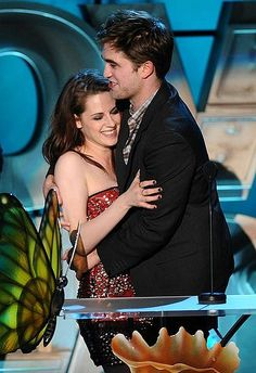 MTV Movie Awards 2011  They won for best kiss.